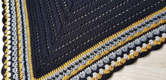 Us Crochet Pattern Cal Shawl 3 0 By Annah Haakt Bohemian Boho Hippie Ibiza Style Patronen Haakpatronen Etsy