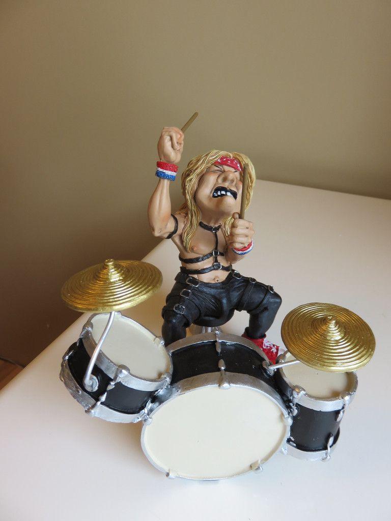 Drummer Figurine Rock Band Warren Stratford