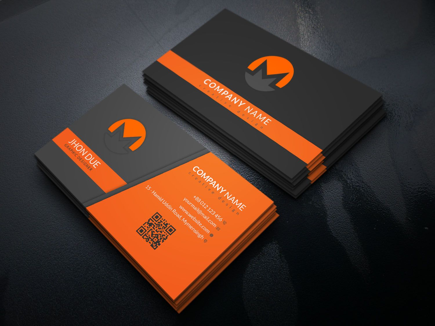 How To Design A Business Card With Photoshop Veppe Inside Visiting Card Templ Professional Business Card Design Visiting Card Design Visiting Card Design Psd