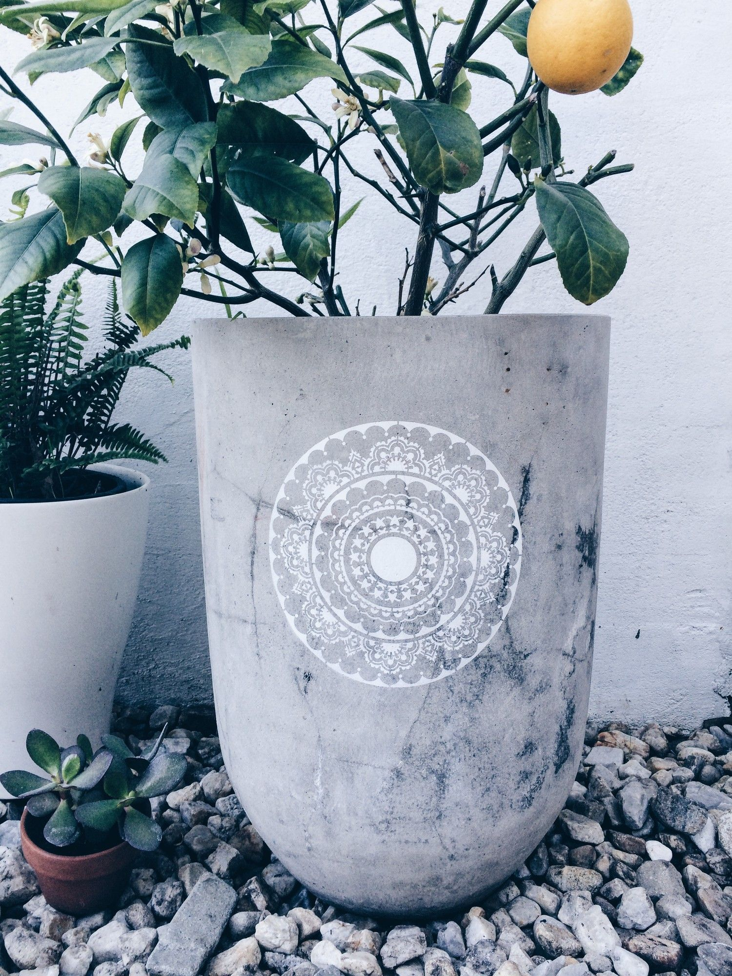 Happiness Mandala Stencil Temple & Webster Mandala
