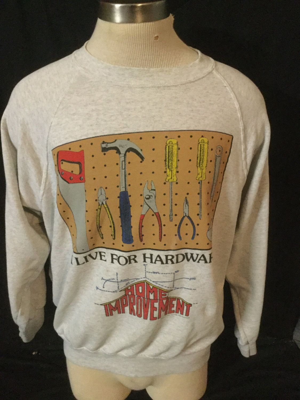 Vintage 1990 S Abc Home Improvement Television Show Sweatshirt T Shirt 50 50 By 413productions On Etsy Sweatshirts Shirts T Shirt