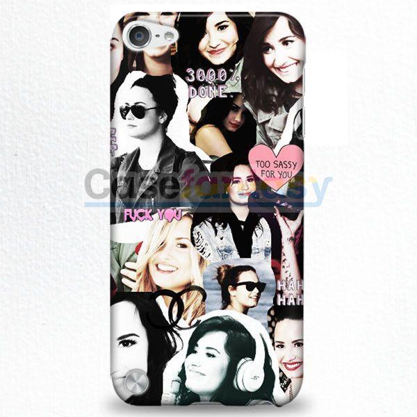Demi Lovato Collage iPod Touch 5 Case | casefantasy