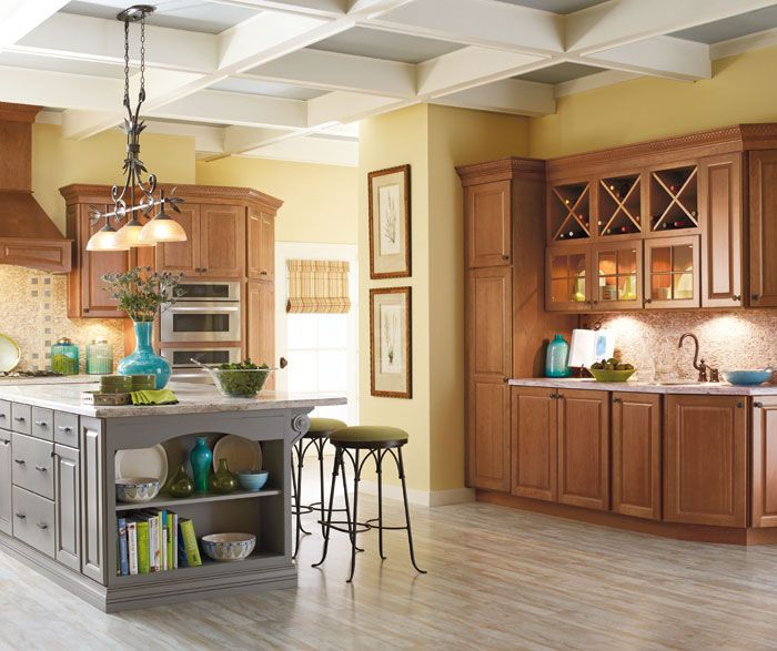 15 Stunning Gray Kitchens With Images: Schrock At Menards (With Images
