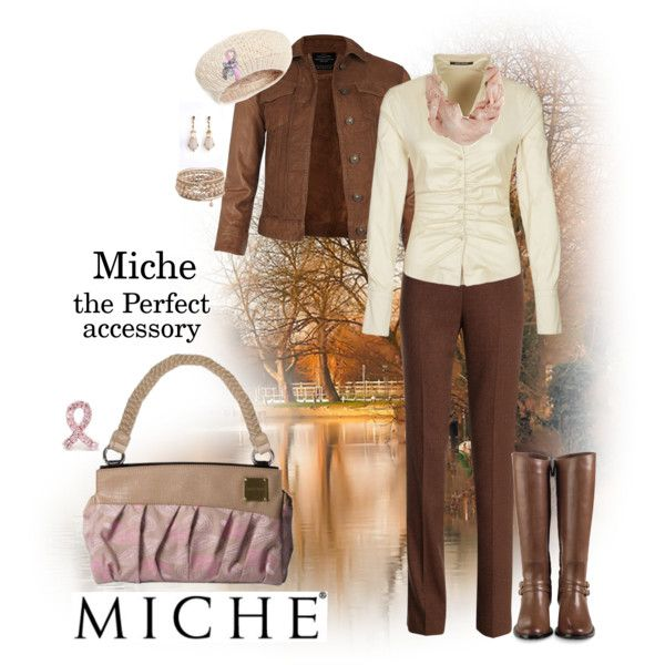 Miche Handbags - the Perfect accessory https://savvyandchicpurses.miche.com  by billiejo1488 on Polyvore