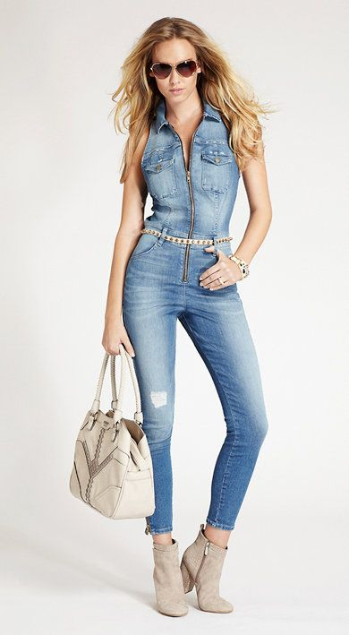 7a5d7625d2d JLO started the denim jumpsuit trend but I rocked the hell out of it in  Montreal  )  the good old days