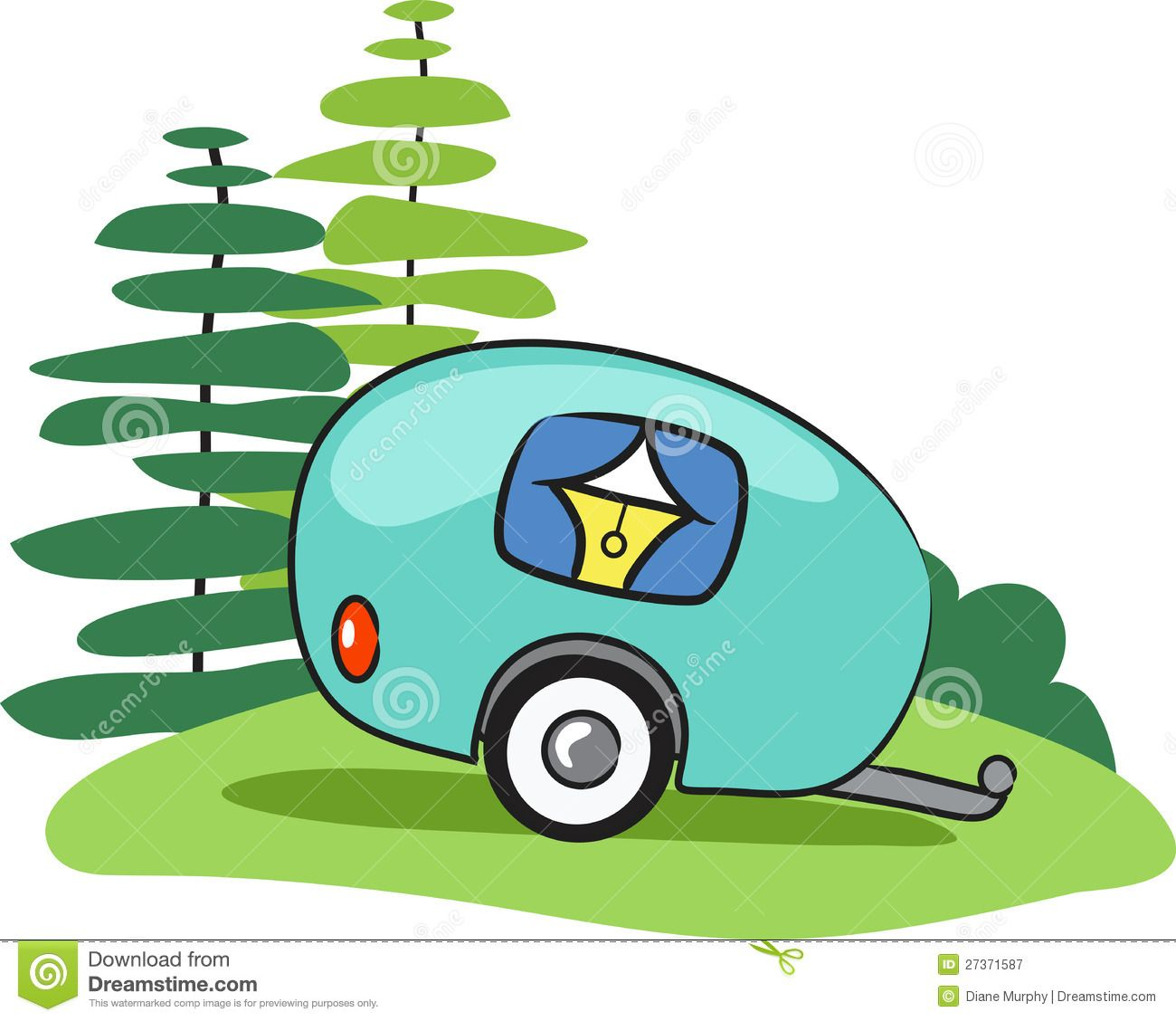 Camper Stock Illustrations 2408