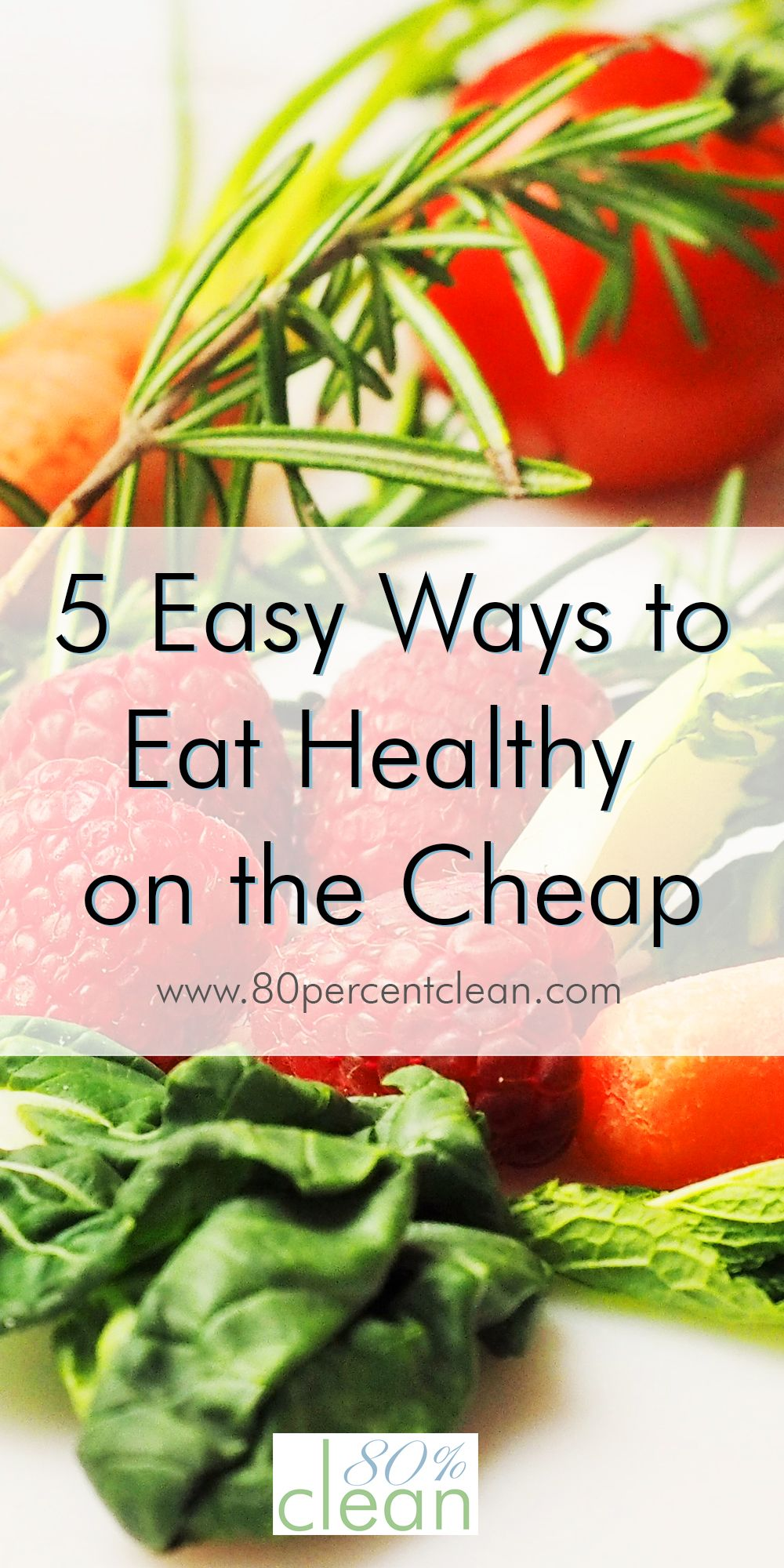 Want to eat healthy, but are on a tight budget? It is easy to eat healthy on the cheap with a few simple changes to your routine and the places you shop.