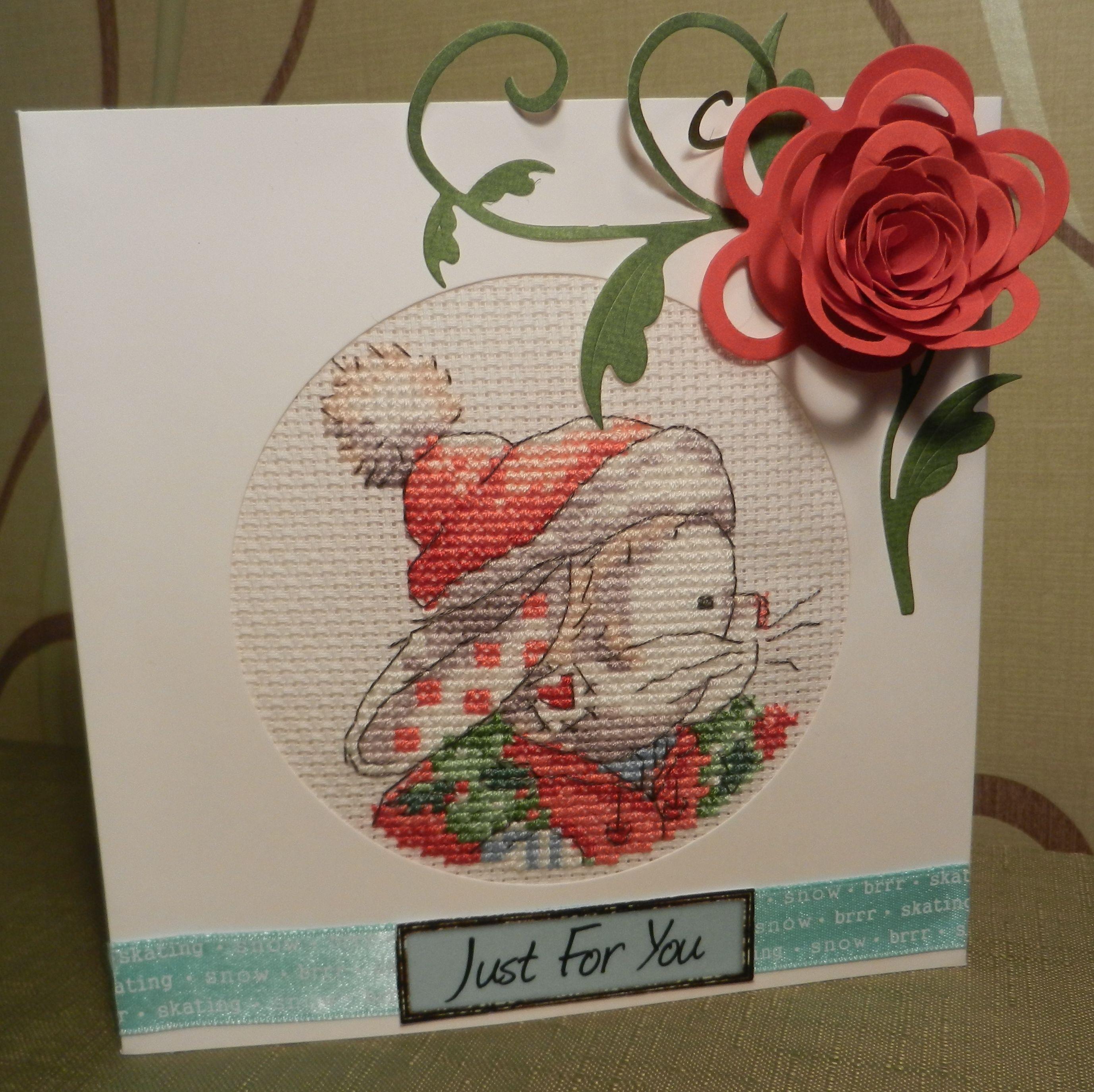 somebunny just for you christmas card.