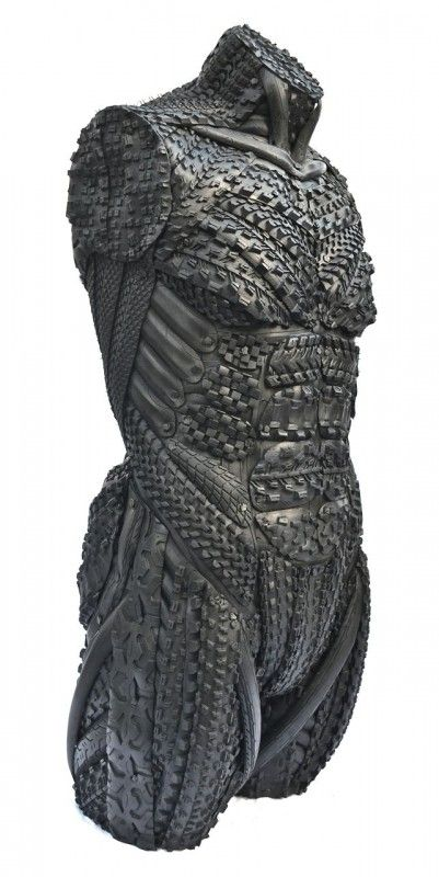 Amazing Recycled Tire Sculptures   Recyclart