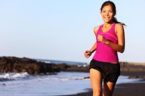 Die besten Abnehmregeln: Laufen hält fit, macht gesund und glücklich. Und ganz nebenbei purzeln auch ohne Diät die Kilos - wenn Sie diese acht Regeln beachten.