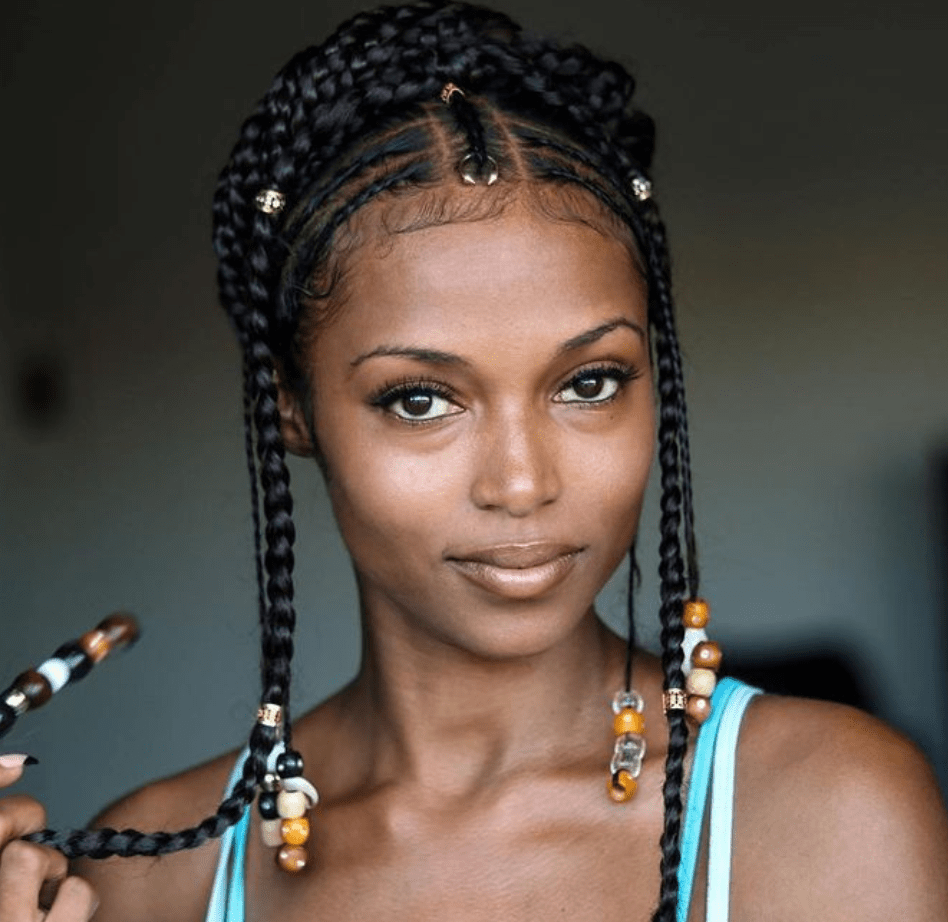 15 Stunning Images Of Fulani Inspired Braids Hair