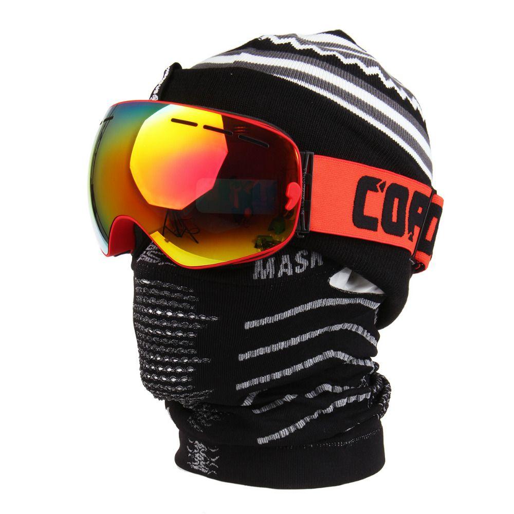 Passamontagna Maschera di Inverno Sciarpa Termica Antivento Snowboard Sci Skull Maschera Motocicletta Bicicletta Outdoor Ciclismo Mezza Maschera
