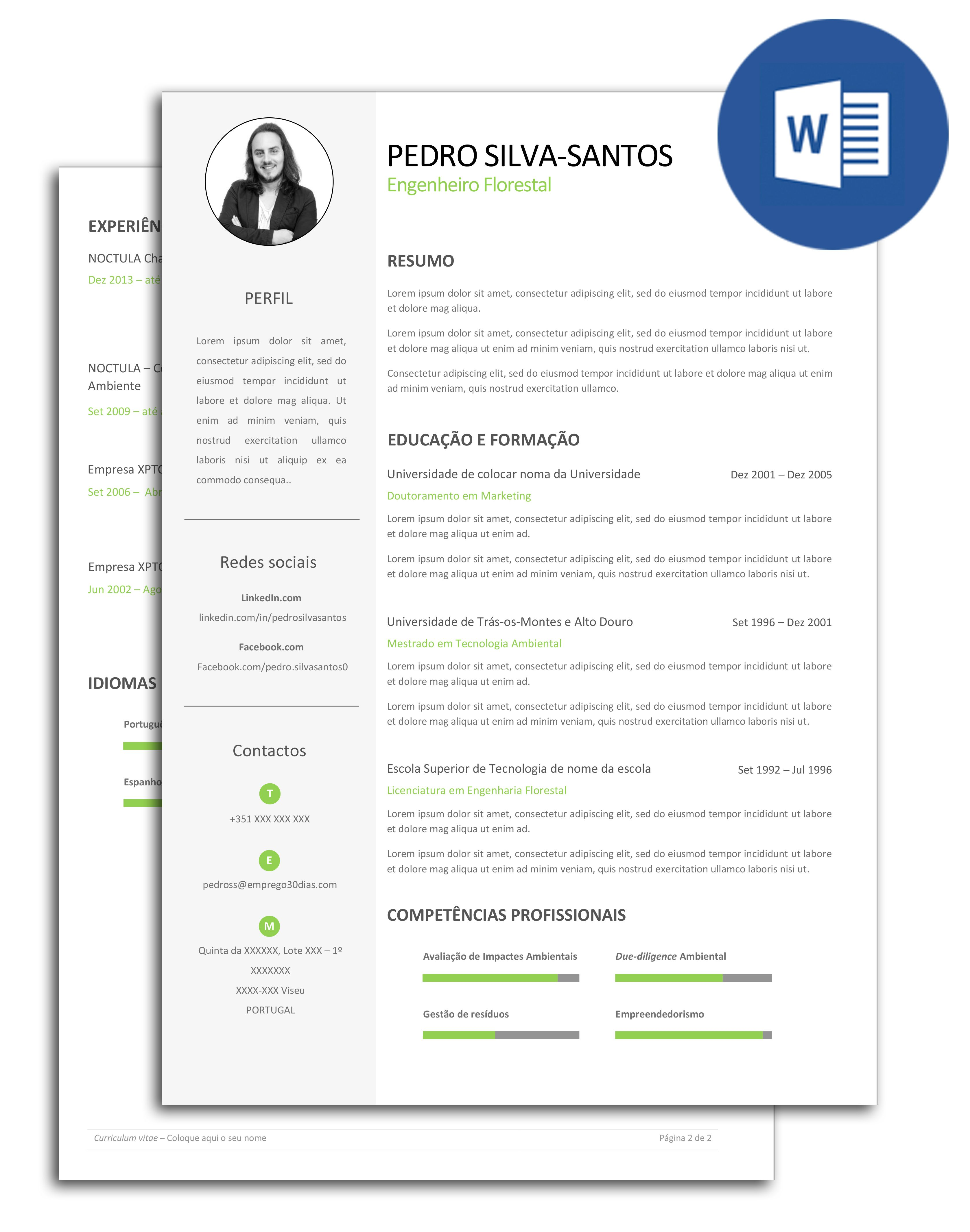 modelo de curr iacute culo azul templates resume and resume templates modelo exemplo de curriculum curriculo