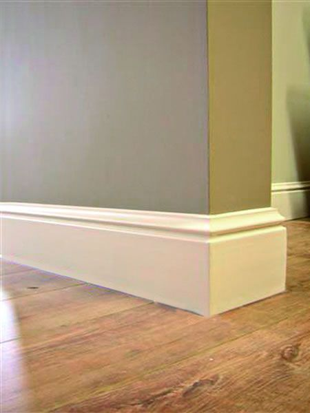Skirting Board Luxury - Simple door skirting Ideas