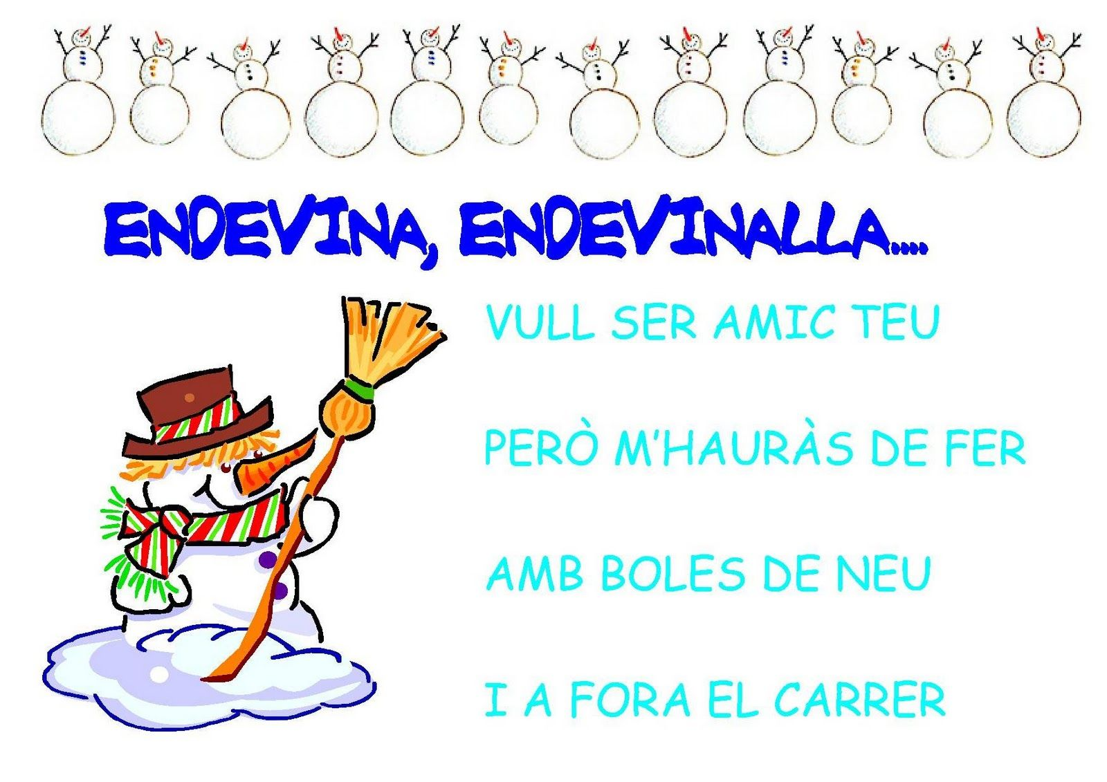 38 Ideas De Endevinalles I Cançons Cancionero Infantil Poemes De Nadal Canciones
