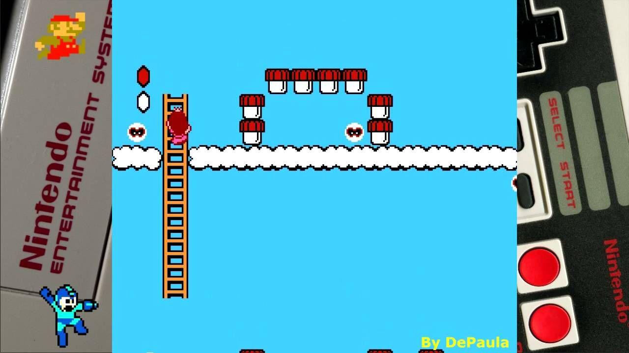 Super Mario Bros 2 (NES) Gameplay Fase 7-1