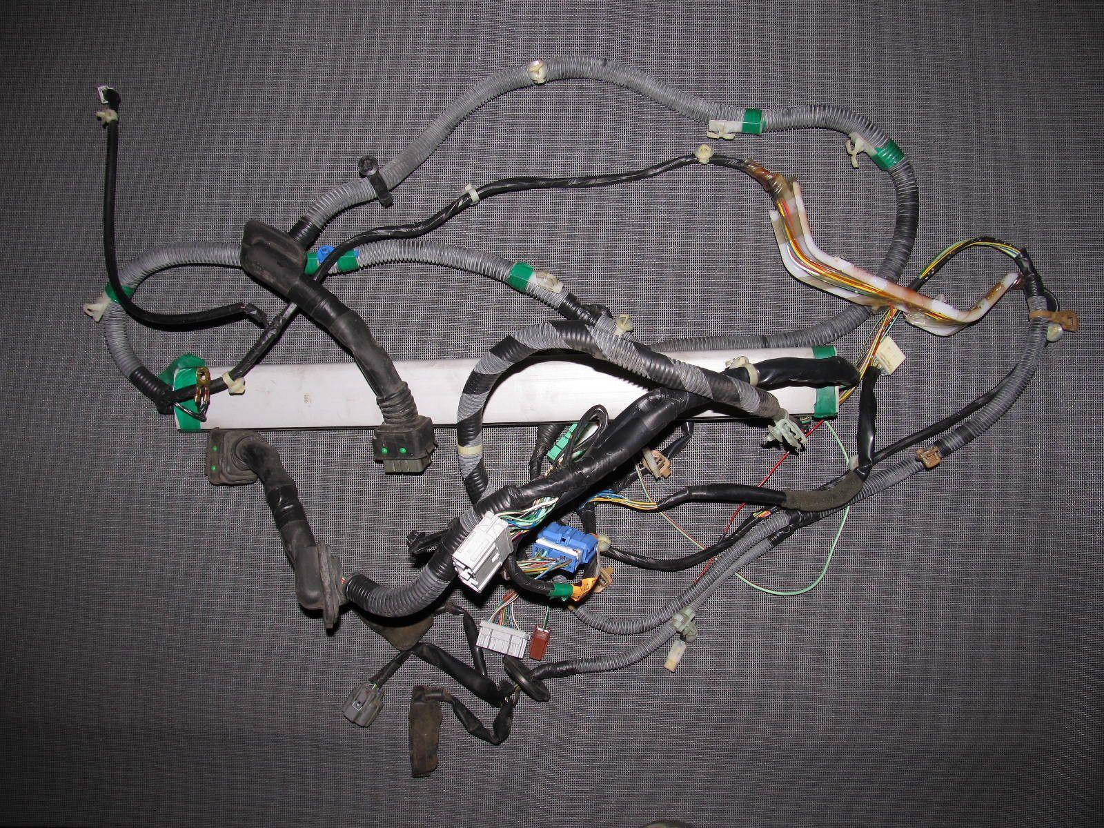 96 97 98 honda civic oem chassis door wiring harness [ 1600 x 1200 Pixel ]