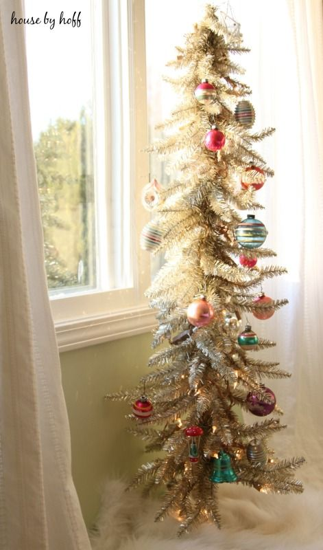 Martha Stewart Slim Christmas Tree
