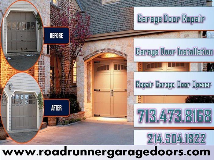 Leading 1 Roadrunner Garage Doors Repair Company Offers Repair Services For All Manufacturers Of Roll Up Doors In Door Repair Roll Up Doors Garage Door Repair