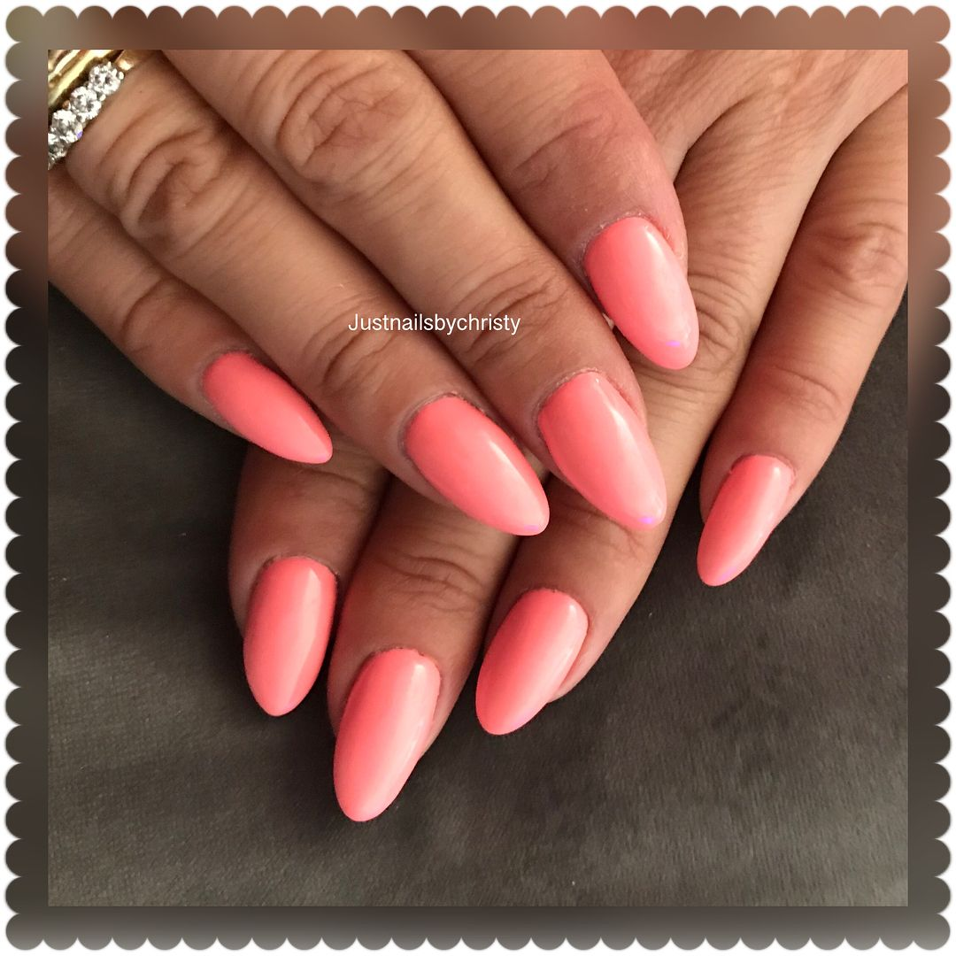 acrylicnails #bluesky #gel #summer #color #manicure ...