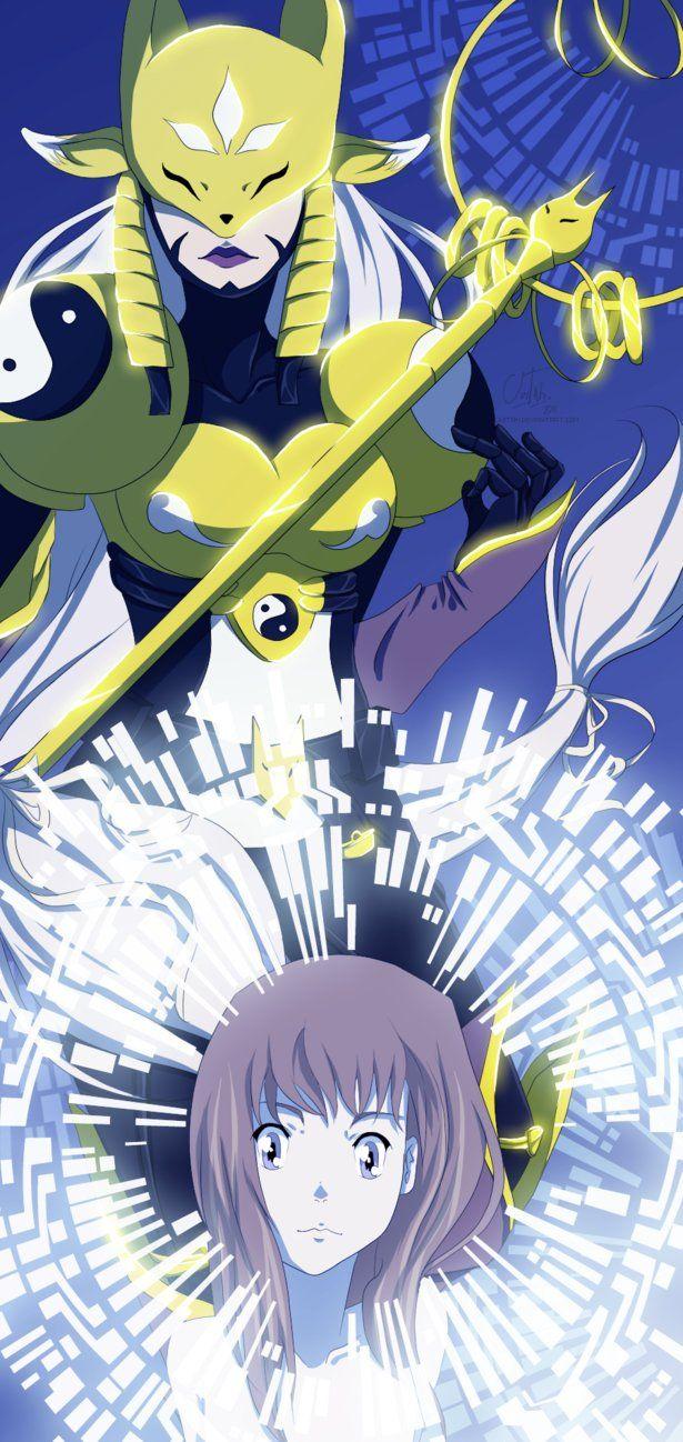 Matrix Evolution Sakuyamon Digimon Pokemon Vs Digimon
