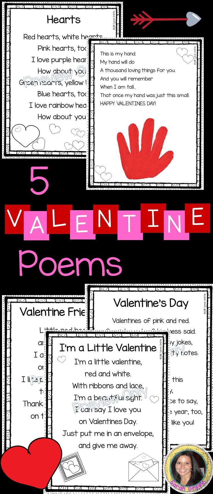 Fesselnd 5 Valentineu0027s Day Poems For Kids