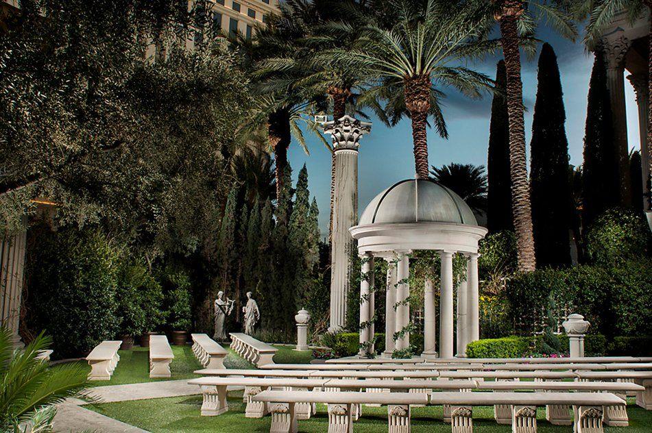 CAESARS PALACE Venus Garden Wedding Venue! 104 (̶2̶2̶0̶