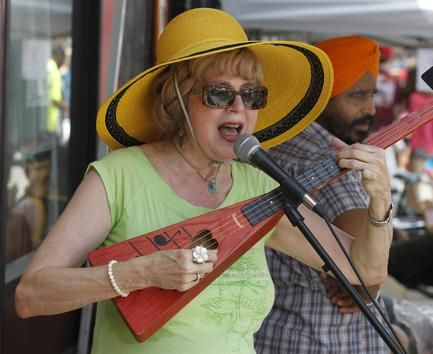 Scenes from Carytown Watermelon Festival