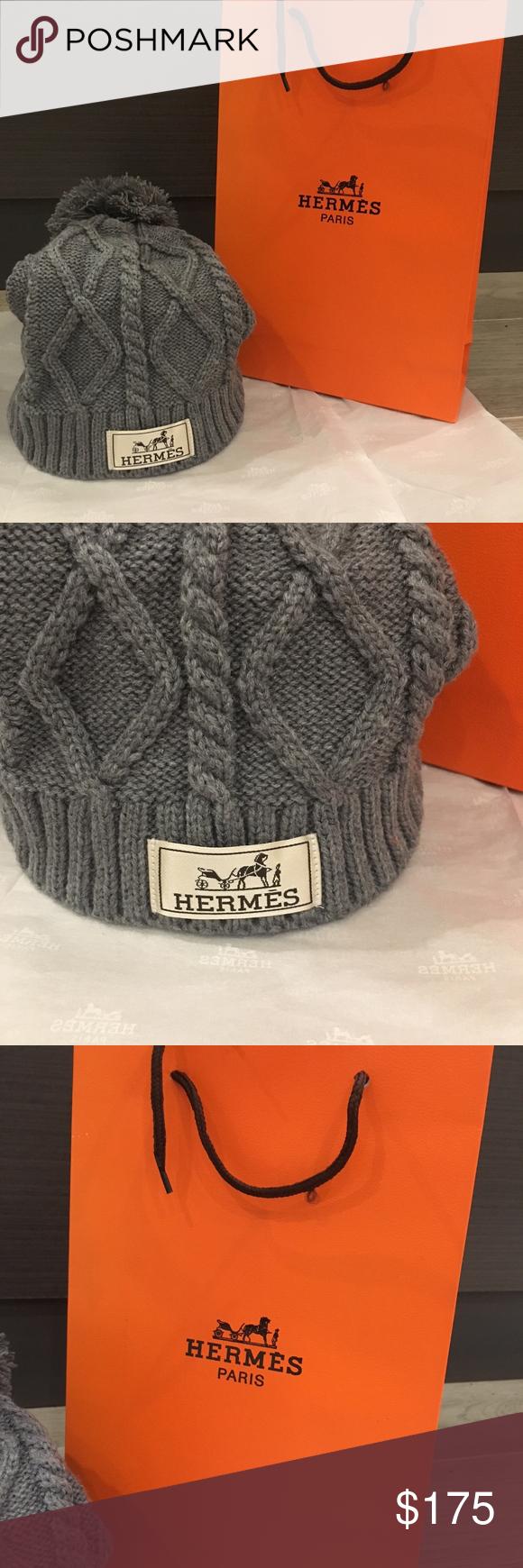 9dd02e46e8c BRAND NEW HERMES VIP POM POM TOQUE WINTER HAT This hat is amazing! Stylish