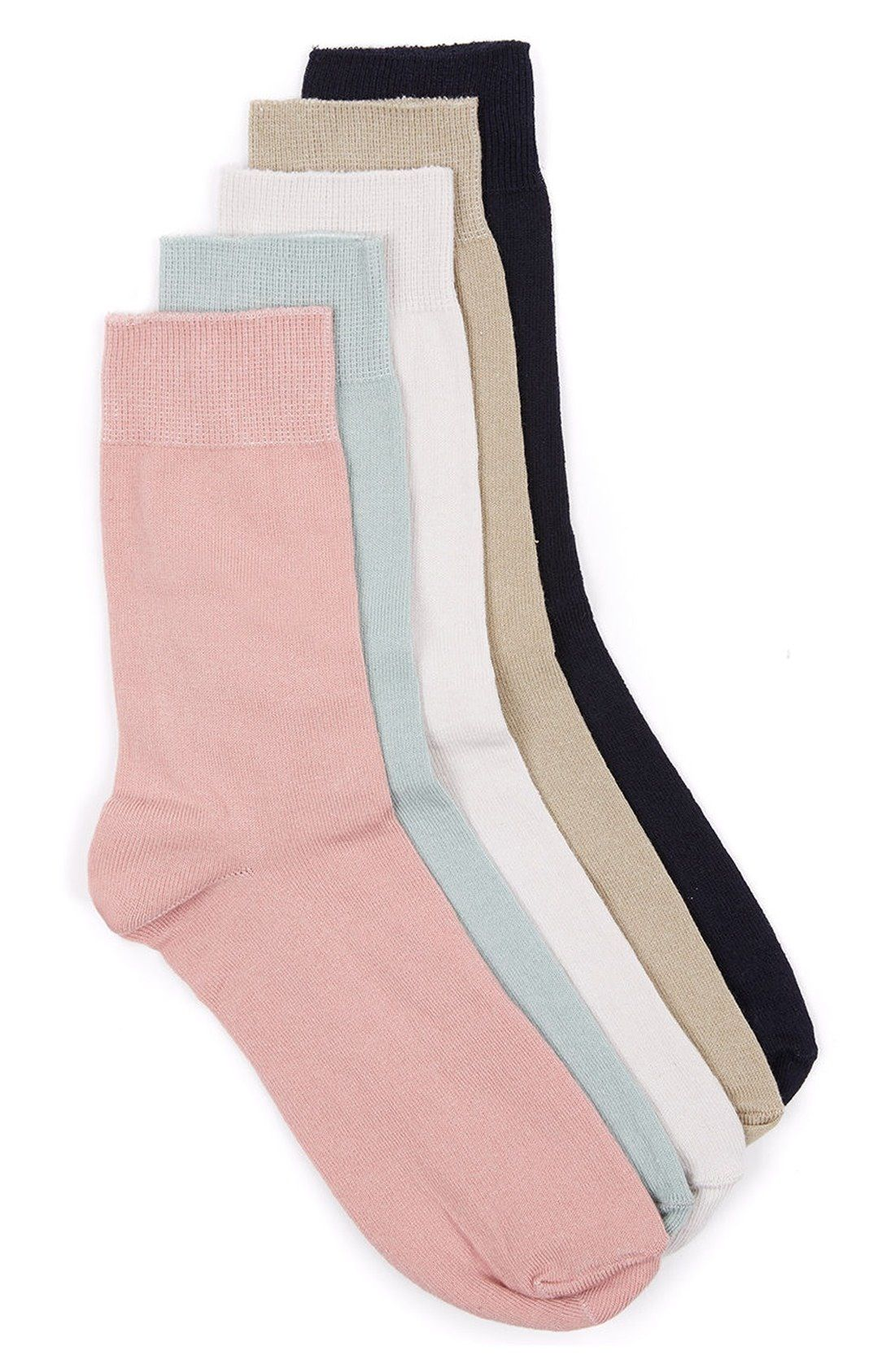 d06ceafa55014 Topman Assorted 5-Pack Socks available at  Nordstrom