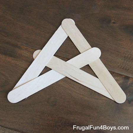 How To Build Popsicle Stick Bombs Popsicle Sticks Craft Stick