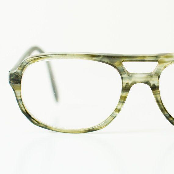 Vintage Hipster Glasses Translucent Green by TimeForMemories, $42.00