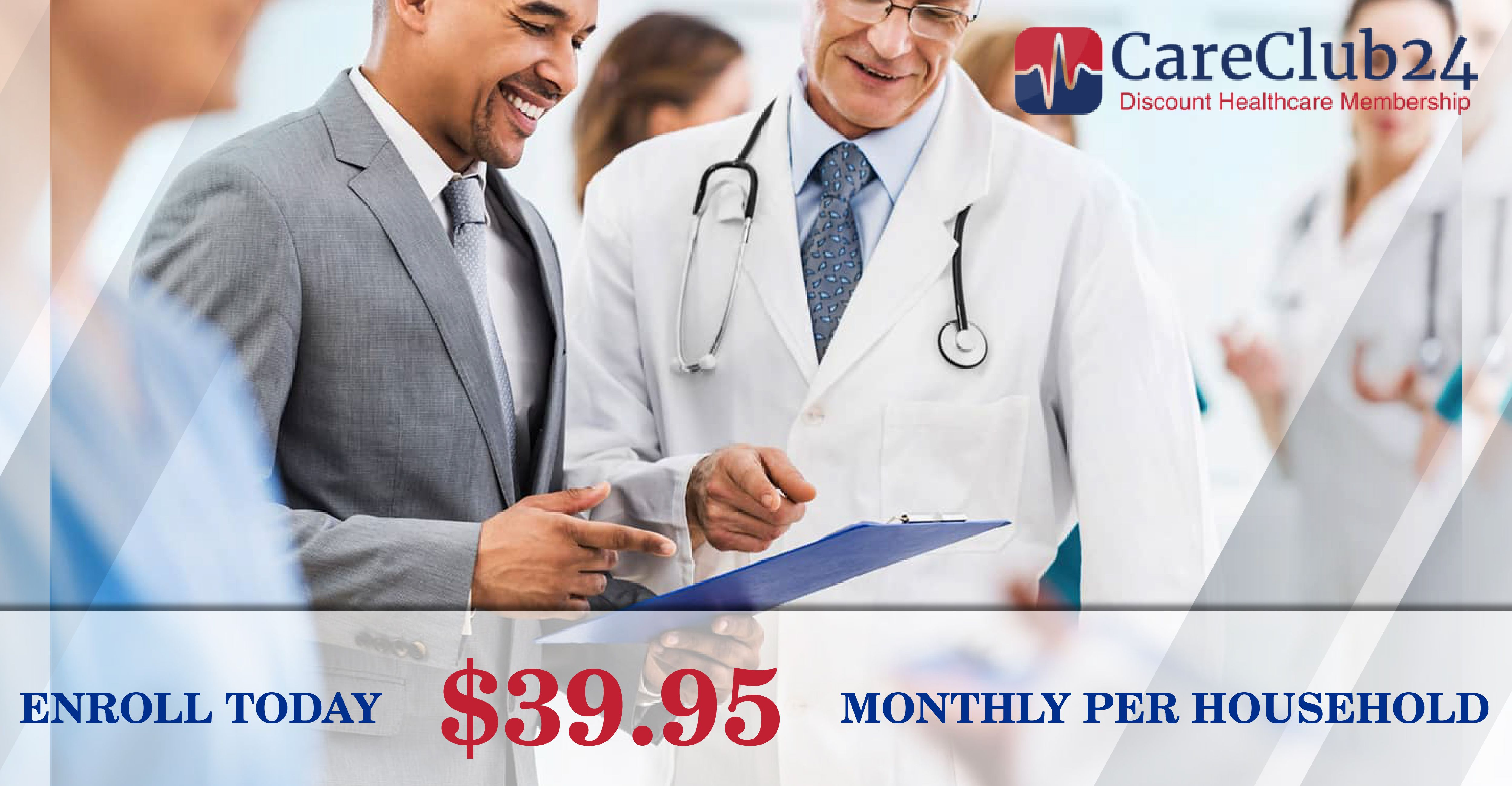 Careclub24 Is A Nationwide Discount Healthcare Membership That