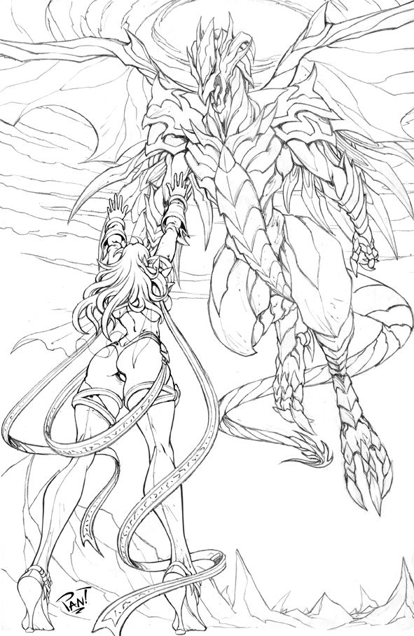 Dragon Lord by ~pant on deviantART | Adult coloring ...