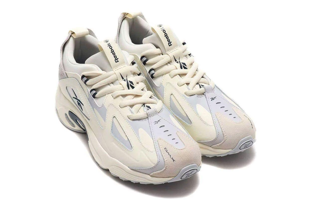 Reebok DMX 1200 Neutral Tone Colorways Release beige grey white blue Sneaker  Art 93a129620