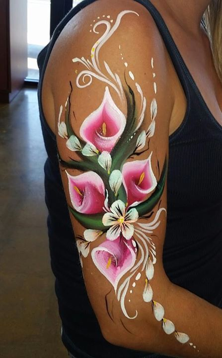 Flower arm