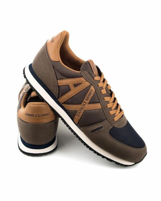 release date: dc814 b71f6 Zapatillas Armani Exchange - Marrón   Beige   Calzado   Sneakers, Shoes y  Shoe game
