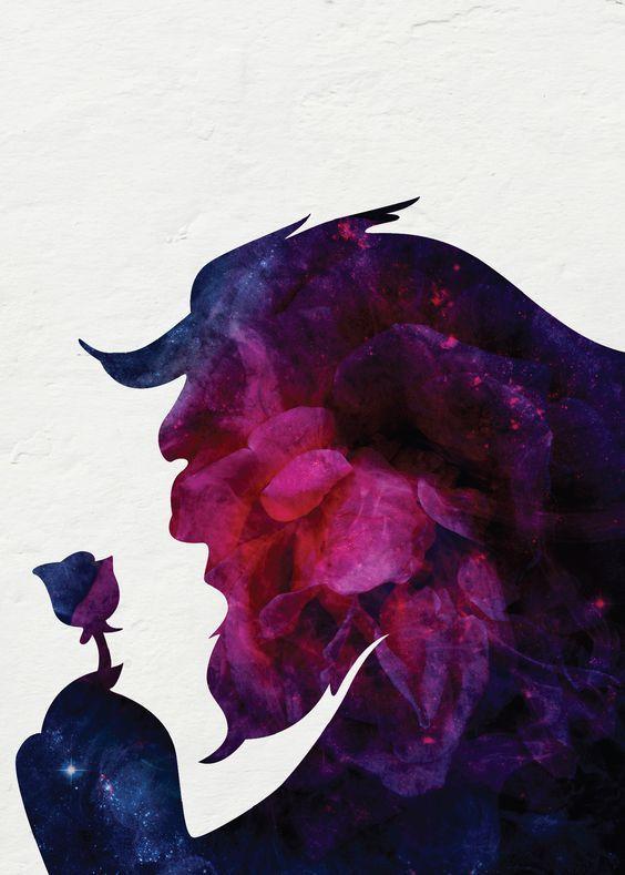 Image Result For Beauty And The Beast Rose Fan Art Bela E A Fera A Bela E A Fera Bela
