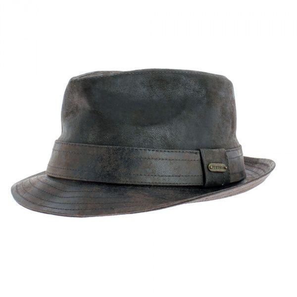 qualité de la marque vente chaude authentique meilleur prix Chapeau trilby cuir Radcliff - Stetson | mens in 2019 | Hats ...