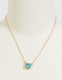 Gem Pendant Gold & Pacific Opal