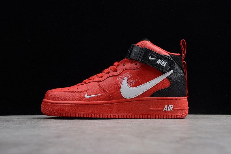 the best attitude 5d82a 44ab5 Nike Air Force 1 High 804609-105 Gym RedBlack-White Resistant Breathable  Sneakers