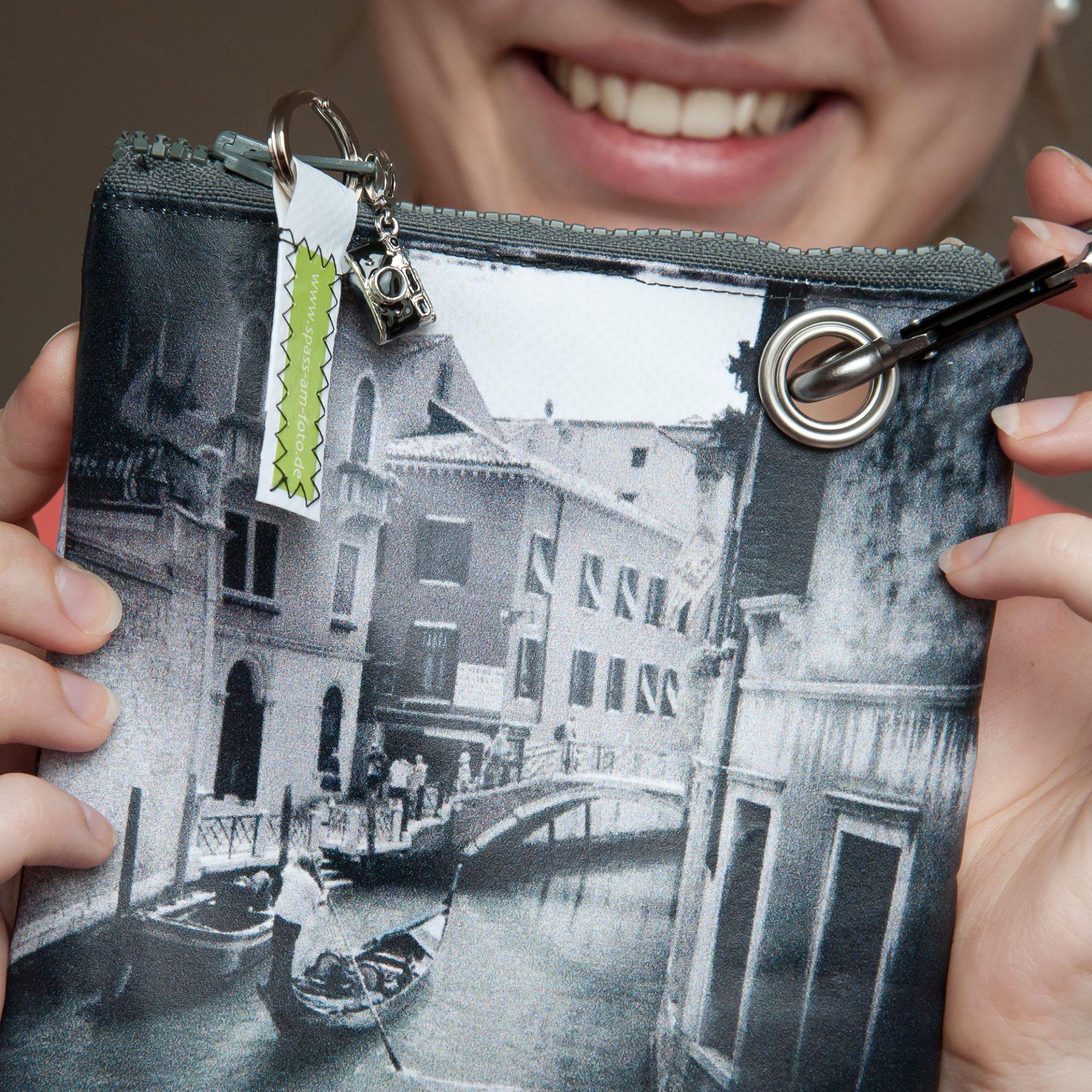 Tasche, DIY, Fotodruck, Öse, Kulturbeutel