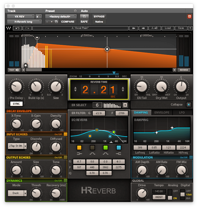 H-Reverb Hybrid Reverb in 2019 | Producers Tips | Waves audio