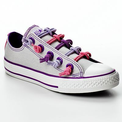 Converse Chuck Taylor All Star Loop-to-Knot Shoes :)