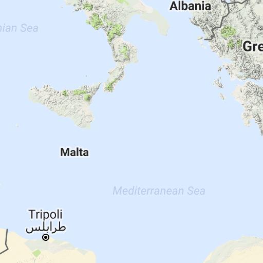 European Railway Map