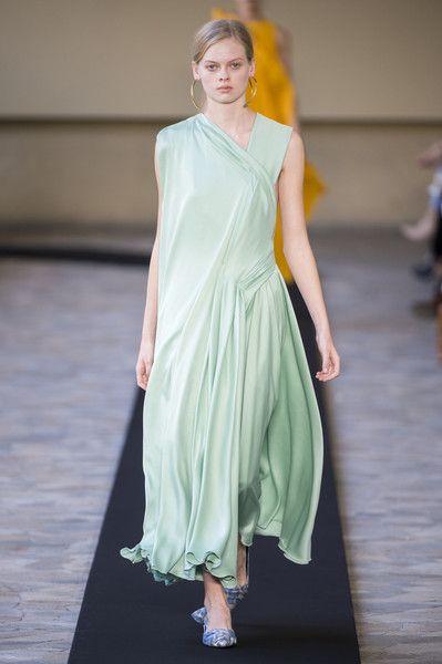 Mila Schön at Milan Fashion Week Spring 2018