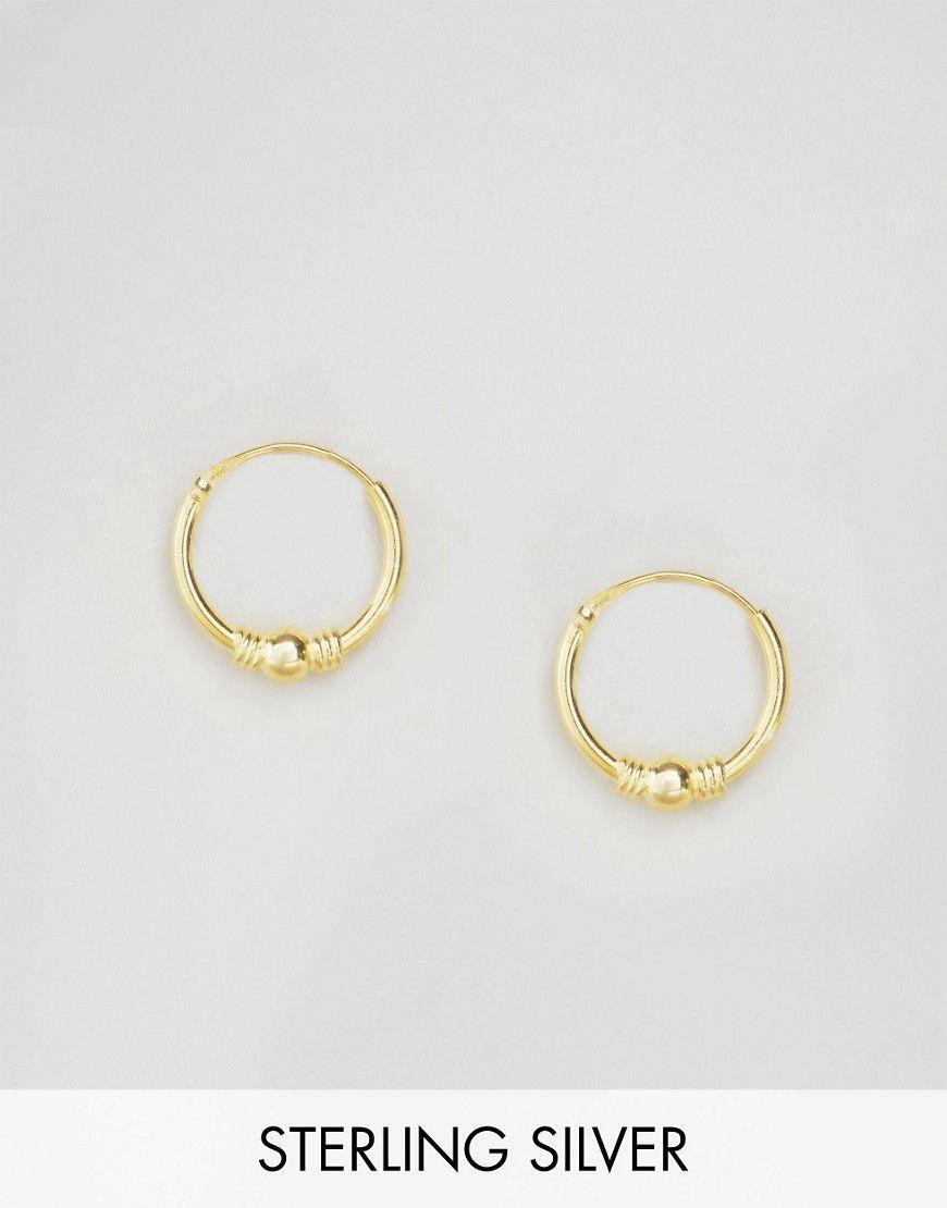 Gold Plated Mini Hoop Earrings Set - Gold Kingsley Ryan Zm1q0