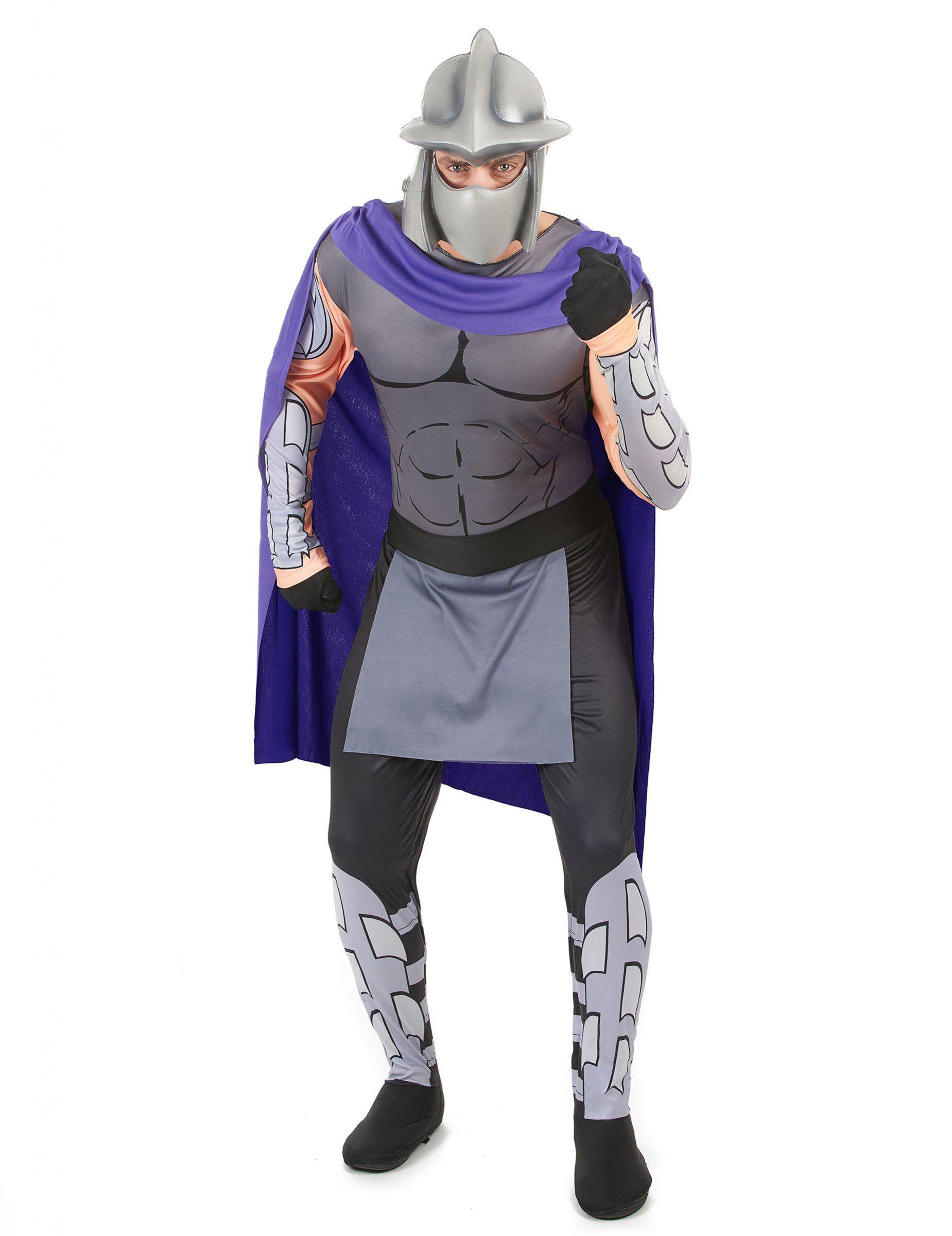 Ninja-turtles-kostüm shredder schwarz-lila | Ninja-Turtles-Kostüme ...