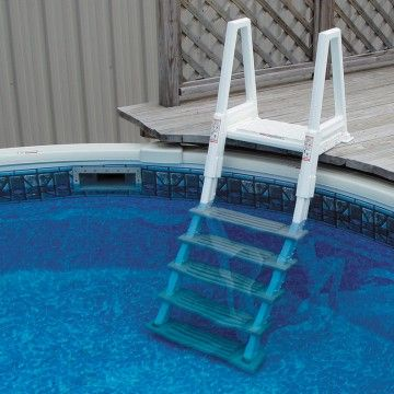 Confer Heavy Duty Inpool Ladder For Decks 42 56 Pool Ladder Above Ground Pool Ladders Above Ground Pool Decks