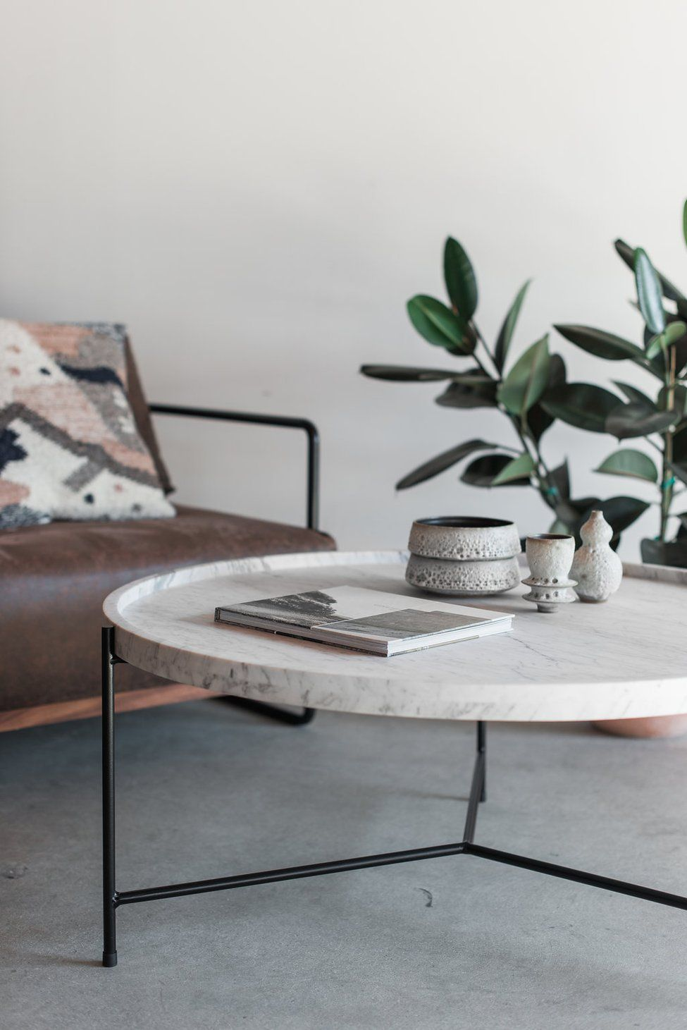 Marquina Coffee Table In Carrara Coffee Table Marble Coffee